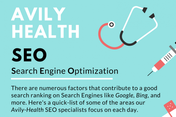 Infographic: Avily Health SEO