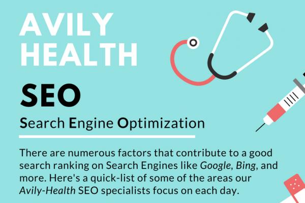 Infographic: Avily Health SEO